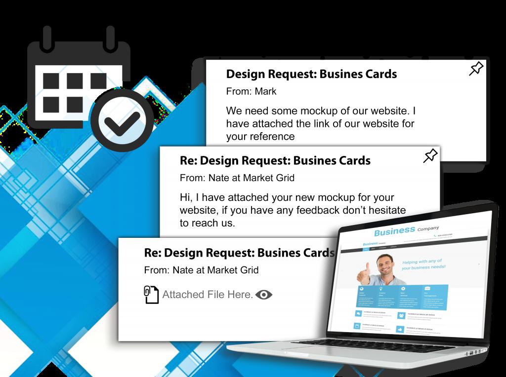 business card design services