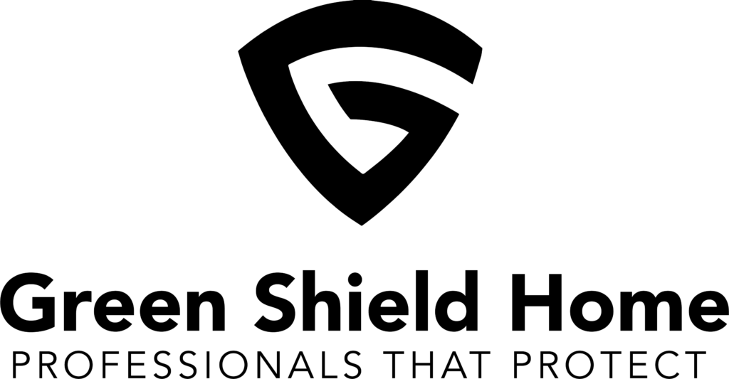 Professional Logo Designer - Green Shield Home