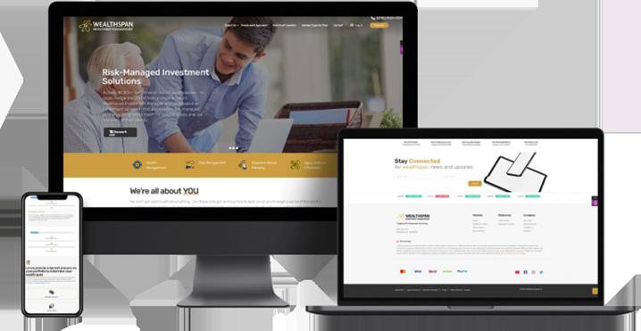Responsive website design services in Rapids MI